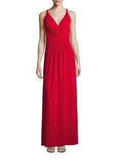 BCBG Max Azria BCBGMAXAZRIA Hali Knit Evening Gown