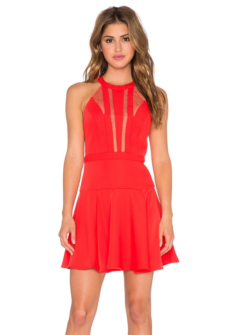 BCBG Max Azria BCBGMAXAZRIA Halter Mini Dress