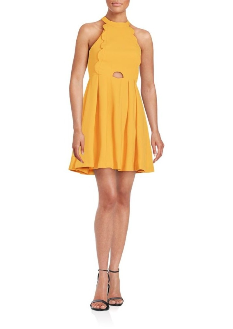 BCBGeneration Halter Neck Dress