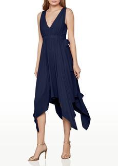 BCBG Max Azria BCBGMAXAZRIA Handkerchief Hem Midi Dress