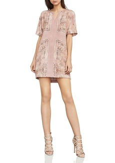 BCBG Max Azria BCBGMAXAZRIA Harlan Scarf Print Shift Dress