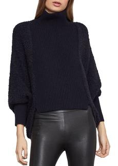 BCBG Max Azria BCBGMAXAZRIA High-Low Turtleneck Sweater