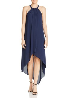 BCBG Max Azria BCBGMAXAZRIA High/Low Draped Gown - 100% Exclusive
