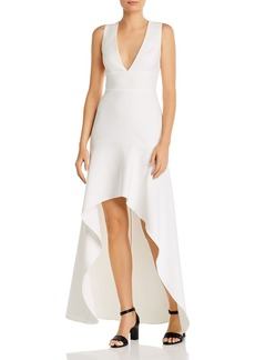 BCBG Max Azria BCBGMAXAZRIA High/Low Gown