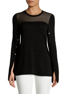 BCBG Max Azria Illusion Sweater