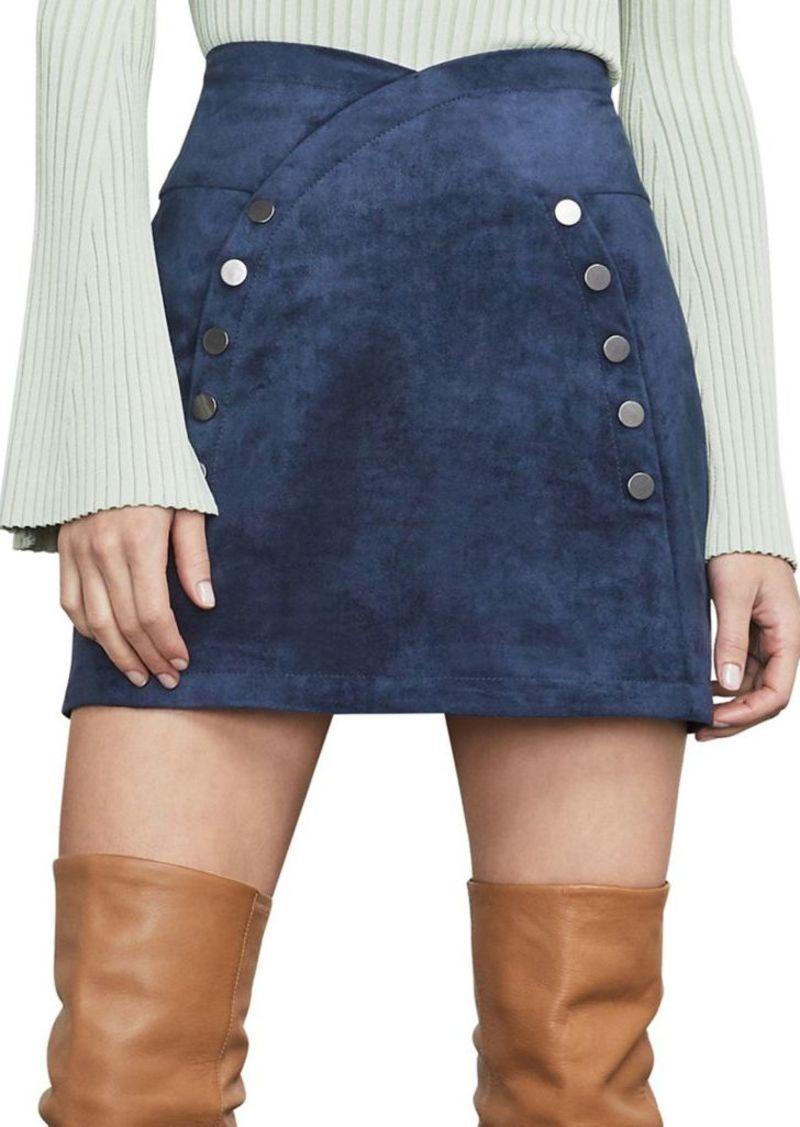 724fe6e107 BCBG Max Azria BCBGMAXAZRIA Ingrid Faux Suede Mini Skirt | Skirts