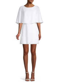BCBG Max Azria BCBGMAXAZRIA Jamey Short Cape-Sleeve Dress