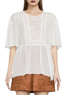 BCBG Max Azria Jan Lace Block Top