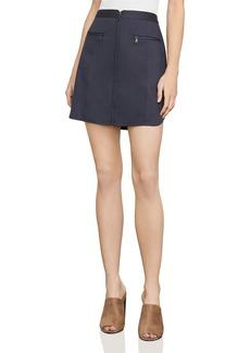 BCBG Max Azria BCBGMAXAZRIA Jania Zip-Front Mini Skirt