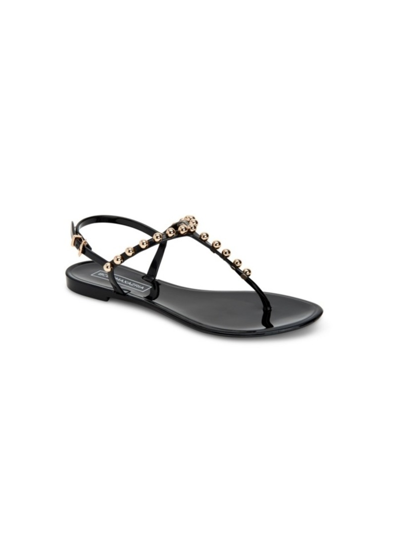 BCBG Max Azria Bcbgmaxazria Jellia Jelly Flat Sandals Women's Shoes