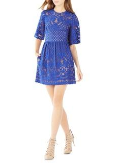 BCBG Max Azria BCBGMAXAZRIA Jillyan Floral Lace Dress