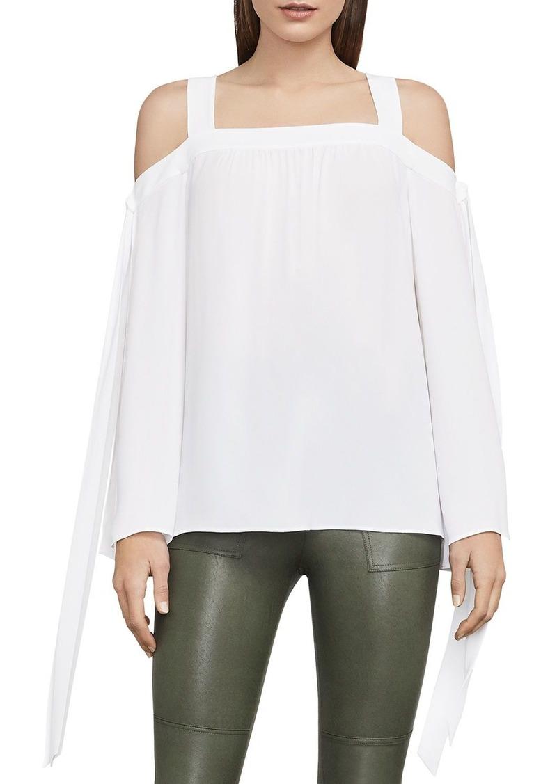 b2898226309 BCBG Max Azria BCBGMAXAZRIA Jorden Cold-Shoulder Top   Casual Shirts