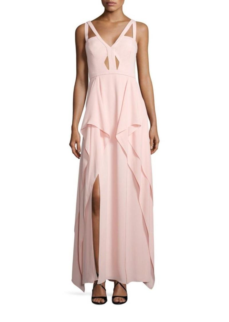 On Sale today! BCBG Max Azria BCBGMAXAZRIA Juliana Ruffle Gown