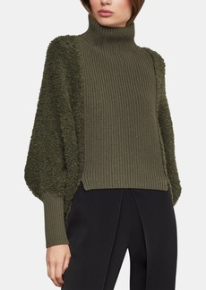 BCBG Max Azria Bcbgmaxazria Juliette-Sleeve Turtleneck Sweater