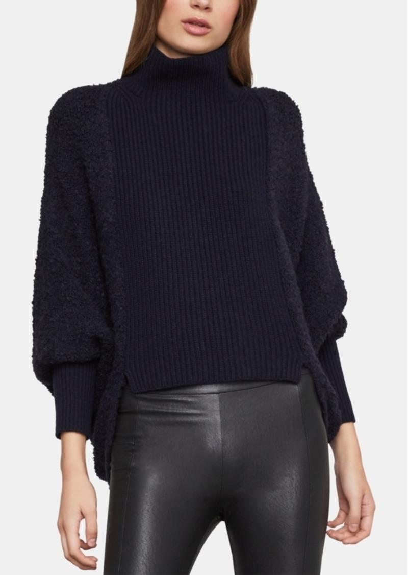 6df3981c437604 BCBG Max Azria Bcbgmaxazria Juliette-Sleeve Turtleneck Sweater ...