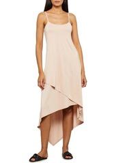 BCBG Max Azria Bcbgmaxazria Asymmetrical Slip Dress