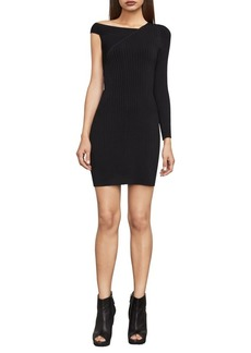 BCBG Max Azria BCBGMAXAZRIA Karli One-Sleeve Sweater Dress