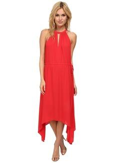BCBGMAXAZRIA Keelie Keyhole Front Halter Dress