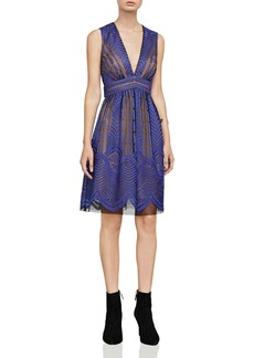 BCBGMAXAZRIA Kellyn Embroidered Dress
