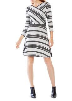 BCBGMAXAZRIA Kenji Striped Dress