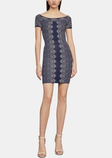 BCBG Max Azria Bcbgmaxazria Kisha Off-The-Shoulder Sheath Dress