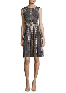 BCBGMAXAZRIA Knit City Knee-Length Dress
