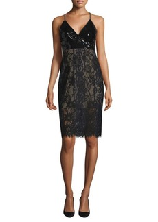 BCBG Max Azria Knit Evening Slip Dress