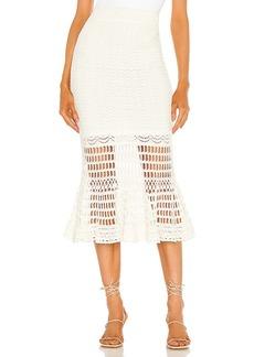BCBG Max Azria BCBGMAXAZRIA Knit Midi Skirt