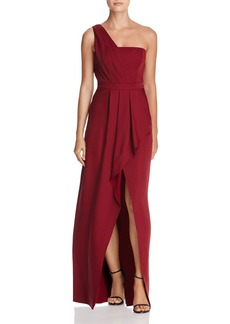 BCBGMAXAZRIA Kristine One-Shoulder Gown