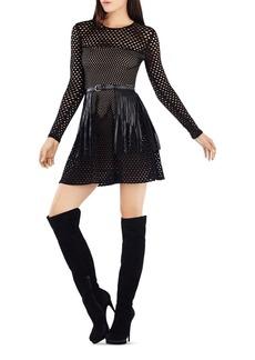 BCBGMAXAZRIA Kyla Mesh Dress
