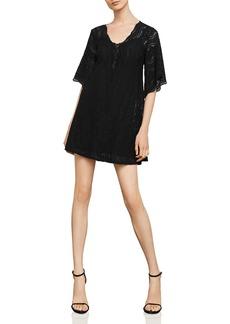 BCBG Max Azria BCBGMAXAZRIA Lace A-Line Dress