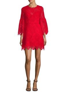BCBG Max Azria BCBGMAXAZRIA Lace A-Line Bell-Sleeve Dress