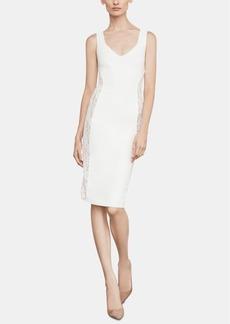 BCBG Max Azria Bcbgmaxazria Lace-Inset Sheath Dress