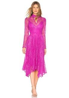 BCBG Max Azria BCBGMAXAZRIA Lace Midi Dress