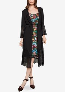 Bcbgmaxazria Lace Robe Jacket
