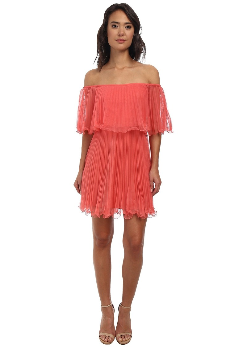Jacquier Tiered-Tulle Dress - BCBGMAXAZRIA - Polyvore