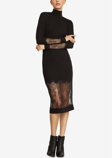 BCBG Max Azria Bcbgmaxazria Lace-Trim Sheath Dress