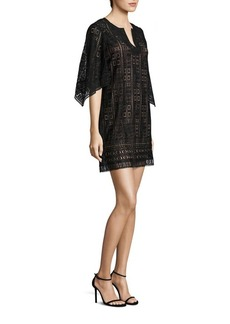 BCBG Max Azria BCBGMAXAZRIA Lace Tunic Dress