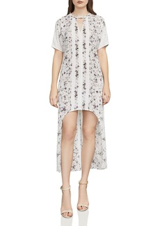 BCBGMAXAZRIA Landyn Floral Print High/Low Dress