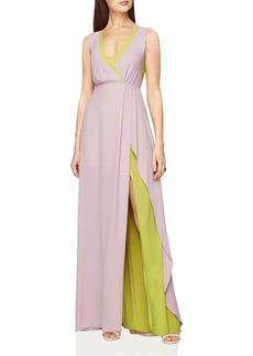 BCBGMAXAZRIA Layered Gown