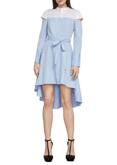 BCBGMAXAZRIA Leandra Colorblock Hi-Lo Dress