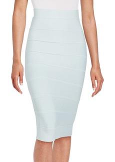 BCBG Max Azria BCBGMAXAZRIA Leger High-Waist Banded Skirt