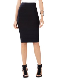 BCBGMAXAZRIA Leger Knit Pencil Skirt