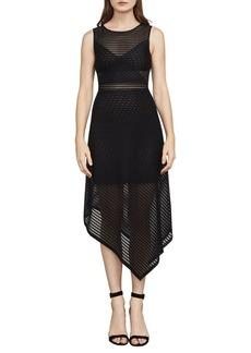 BCBGMAXAZRIA Leona Asymmetrical Dress