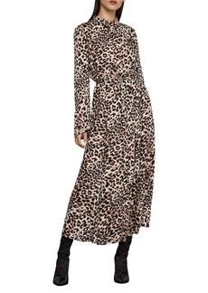 BCBG Max Azria BCBGMAXAZRIA Leopard Blouson Dress