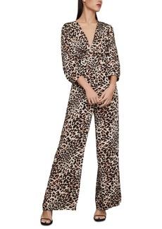 BCBG Max Azria Bcbgmaxazria Leopard-Print Jumpsuit