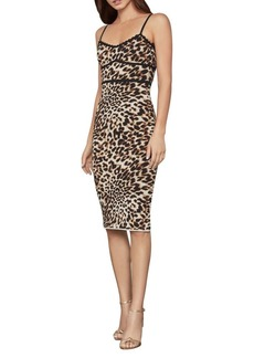 BCBG Max Azria BCBGMAXAZRIA Leopard-Print Sheath Dress