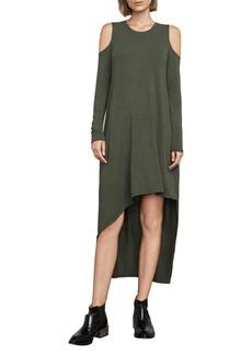 BCBGMAXAZRIA Lindy Cold-Shoulder Dress