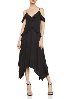 BCBG Max Azria BCBGMAXAZRIA Lissa Handkerchief-Hem Slip Dress