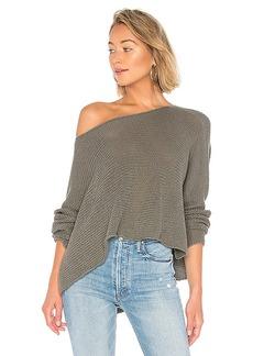 BCBG Max Azria BCBGMAXAZRIA Long Sleeve Asymmetrical Knit Sweater